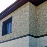 Фасад дома с панелями NICHIHA EFJ571E_EJF573E. Новосибирск