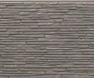 Фасадная фиброцементная панель под серый камень NICHIHA EFX3153NX