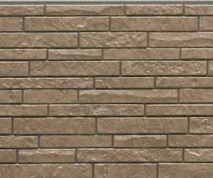 Фасадная фиброцементная панель под коричневый камень NICHIHA EFX3353C