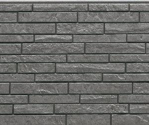 Фасадная фиброцементная панель под серый камень NICHIHA EFX3355NX