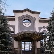 Фасад премиум класса: фасадные панели NICHIHA EFF116 и натуральный гранит