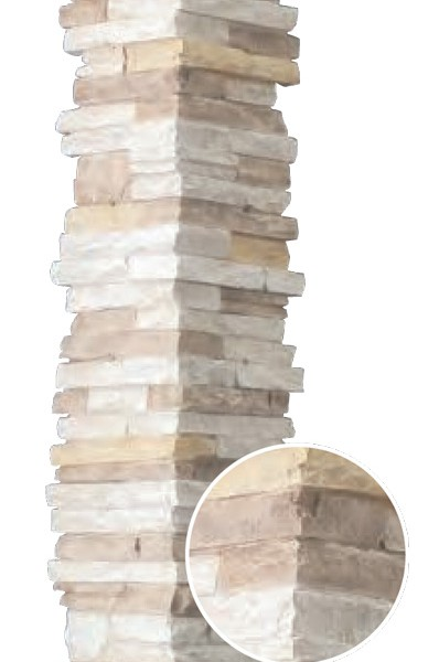 Декоративная накладка на внешний угол фасада NICHIHA CDA23522