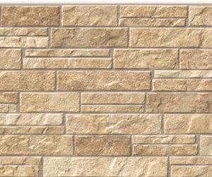 Бесшовная фасадная панель под бежевый камень NICHIHA FUGE EFF0923 (EFF093E)