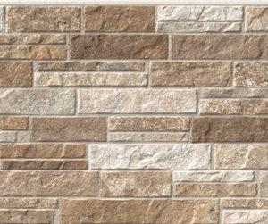 Бесшовная фасадная панель под пестрый камень NICHIHA FUGE EFF0924E (EFF094E)
