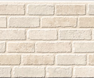 Бесшовная фасадная панель под белый кирпич NICHIHA FUGE EFF1321EX