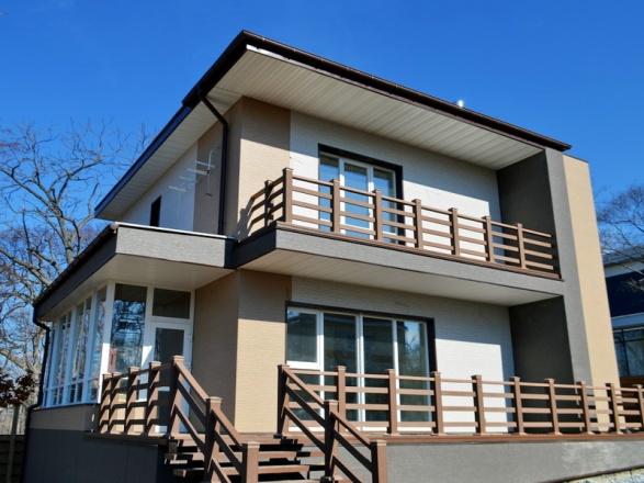 Красивый современный дом с фасадом NICHIHA