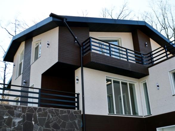 Оформление фасада - Пример 6