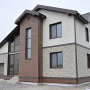 Облицовка фасада дома японским сайдингом NICHIHA