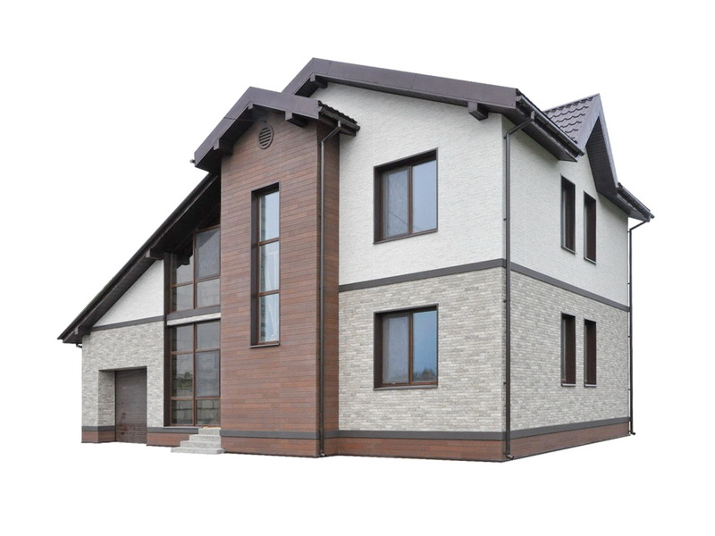 NICHIHA FUGE - бесшовные фасадные панели