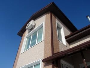 Эффектный дизайн фасада Длина участков плиты одного цвета не превышает 3030 мм