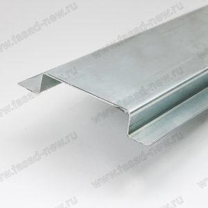 Профиль фасадный вертикальный ВО-65 (оцинкованный)