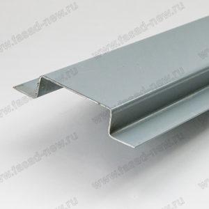 Профиль фасадный вертикальный ВО-65 (окрашенный)