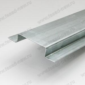 Профиль вертикальный основной ВО-80 (оцинкованный)