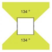 Распределение светового потока светильника 1838S-LED