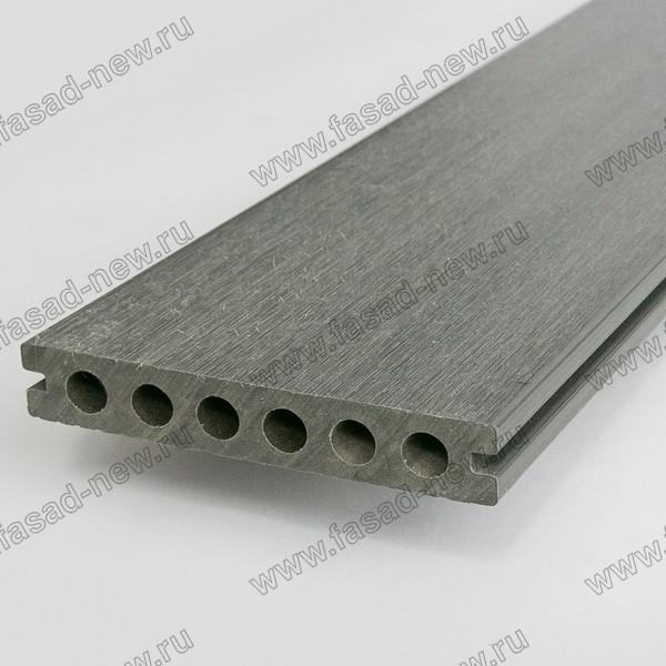 Террасная доска ULTRASHIELS UH02 Каменный серый