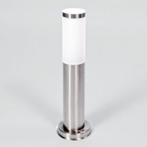 Cветильник cадово-парковый столб INOX 75824-450