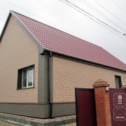 Фасадные панели для дома из кирпича. Новосибирск