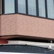 Наружные фасадные панели NICHIHA для отделки балкона. Владивосток