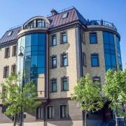 Облицовка фасада здания фиброцементными плитами NICHIHA EJB623. Владивосток