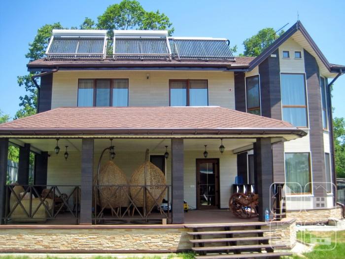 Потрясающий древесный фасад Nichiha для загородного коттеджа