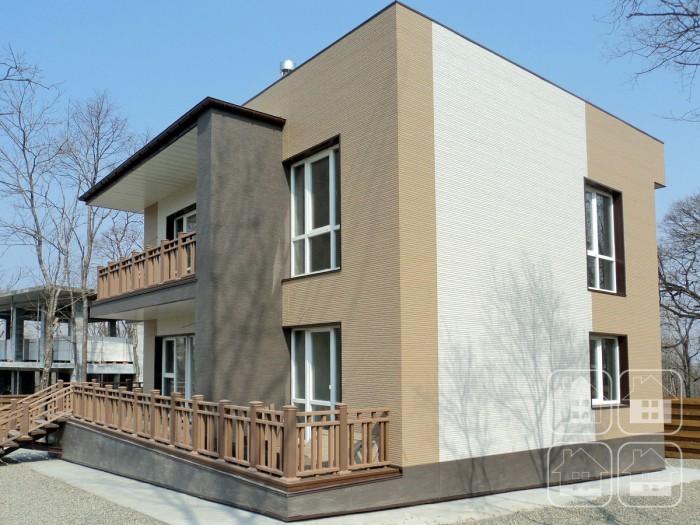 Спокойные тона фасадных панелей Nichiha – в поисках гармонии