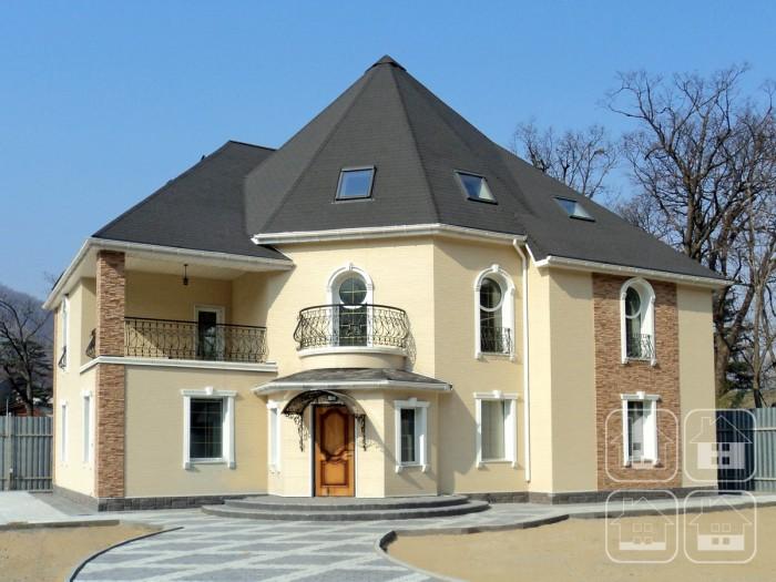 Эффект загородного замка – благодаря фасадам Ничиха