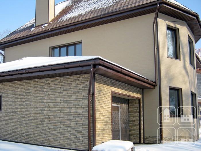 Облицовка фасада под кирпич и штукатурку панелями NICHIHA.