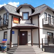 Выставочный дом компании АРТ-СТРОЙ с фасадом NICHIHA