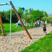 Канатная дорога NAT822 на детской площадке