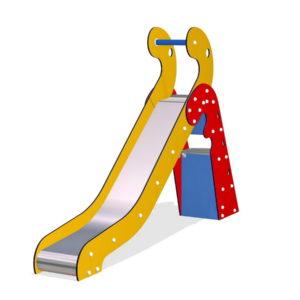Детская игровая горка М351 металлическая для улицы