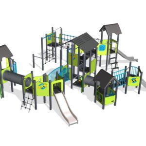 Детский игровой комплекс Городок для уличной площадки