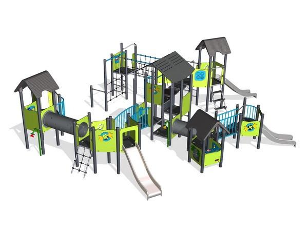 МАФ Городок для детской игровой площадки