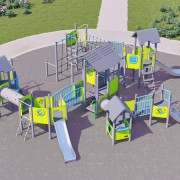 Большой комплекс Городок для детей