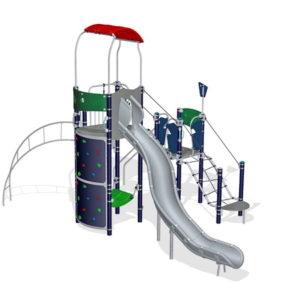 Детский игровой комплекс Перевал для уличной площадки