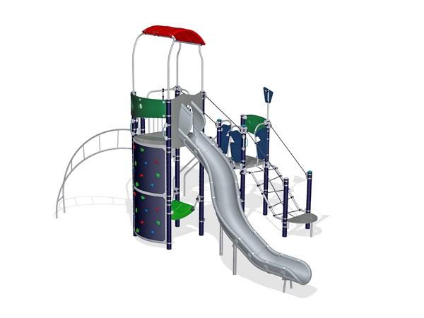 Уличный детский игровой комплекс Перевал