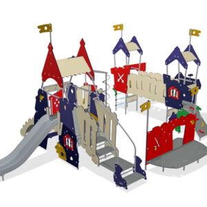 Детский игровой комплекс Замок для уличной площадки