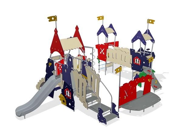 Уличный детский игровой комплекс Замок