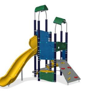 Детский игровой комплекс Маяк для уличной площадки
