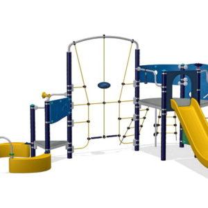 Детский игровой комплекс Спортсмен для уличной площадки