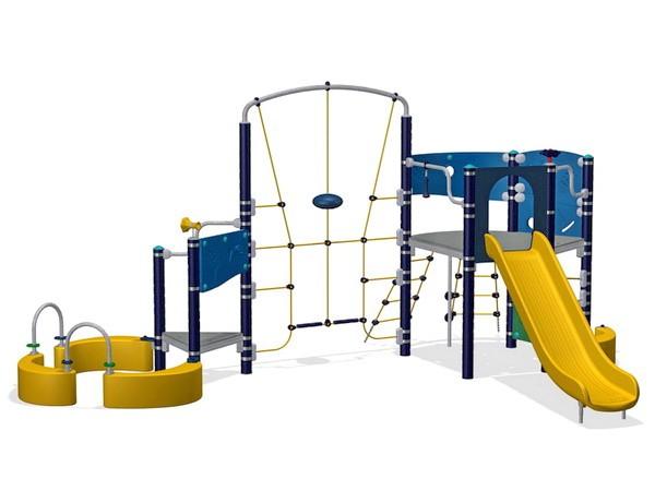Уличный детский игровой комплекс Спортсмен