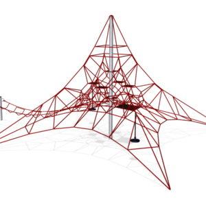 Игровая сетка Пирамида 6х6 для детской площадки