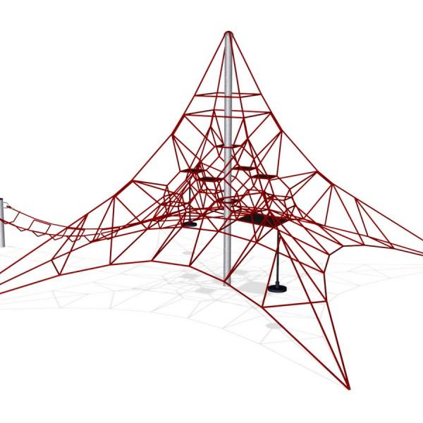 Игровая сетка Пирамида 6х6 м