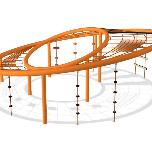 Игровой МАФ Сатурн для детскиой площадки