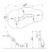 План детской горки PCM110103