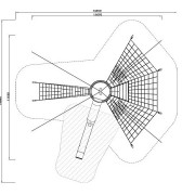 План расположения элементов комплекса Космо