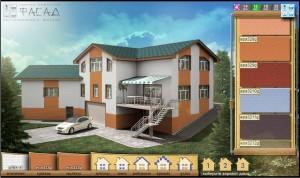 Дизайн фасада дома онлайн