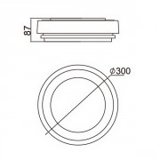 Размеры светильника Sidney 3351