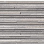 Фото: фасадная серая 3Д панель NICHIHA FUGE eff2424e
