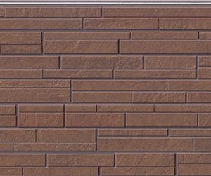 Бесшовная фасадная панель под корчневый камень NICHIHA FUGE EFF214Y