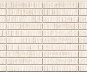 Бесшовная фасадная панель под белый клинкер NICHIHA FUGE EFF261P